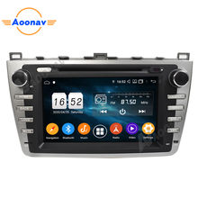 2 Din Android 8 Inch Auto Radio Stereo Voor Mazda 6 Mazda6 Ruiyi Ultr 2008-2012 Touch Screen Audio speler Head Unit(China)