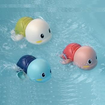 Baby Bath Toys Zabawki Do Kapieli  ABS  Wind Up  Tortoise Style  Beach Bathroom Swiming Pool Play Water kids Toddler Toys