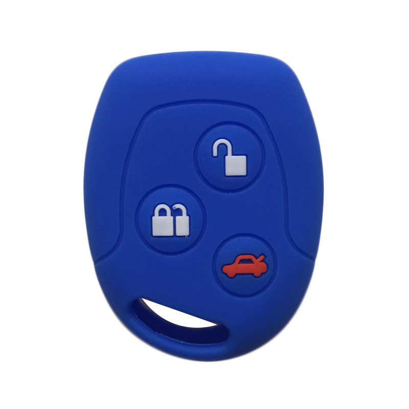 For Ford Focus Mondeo 2 3 MK4 Festiva Fusion Fiesta KA Protector Fob Key Cover For Ford Transit Connect Galaxy Key Case For Car