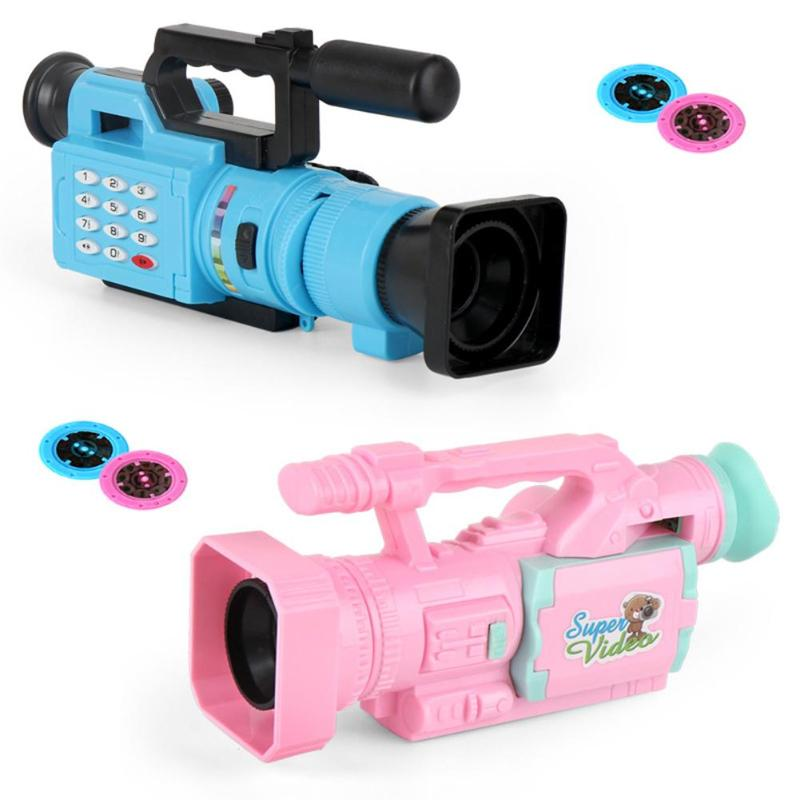 Creative Children Cartoon Video Recorder Novelty Simulation Camera Toys Fuuny Science Learning Boys and Girls Gift image