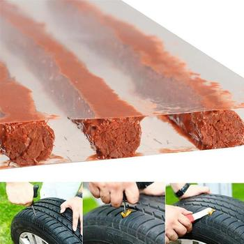 5/50Pcs Car Fast Rubber Tire Repair Strip Auto Motorcycle Tire Strip Tubeless Tape Kit Rubber Wheels Puncture Repair A8P2 image