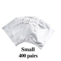 400 pairs Silver