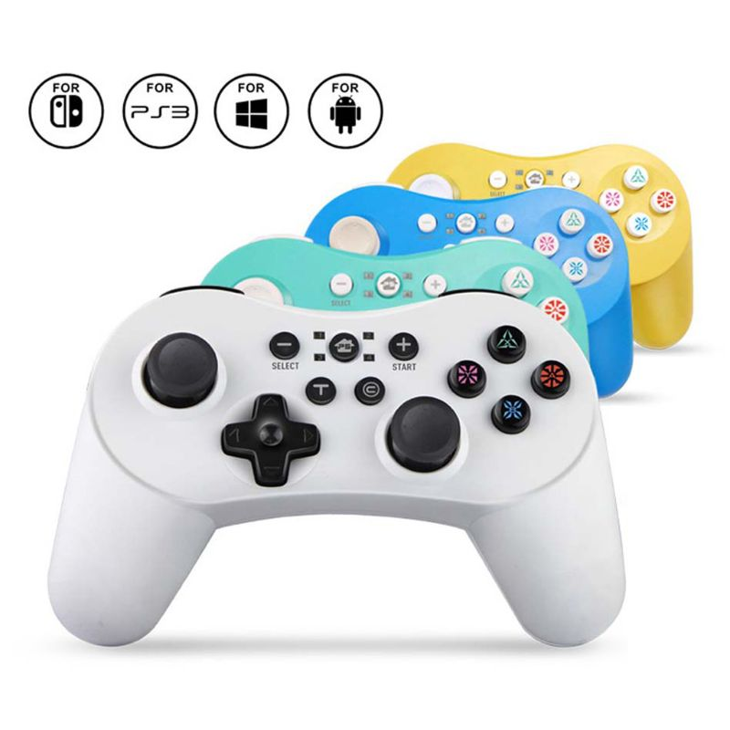 Bluetooth Gamepad Joystick for PS3 Switch PC Controller 400mAh Lithium Battery USB Charging Wireless Gamepad Joypad