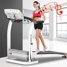 Indoor Treadmill Folding Running Training Twisting Machine Sit-Ups Multi-Function Fitness Equipment Treadmill Maximum 120KG Load
