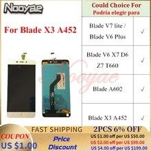 Für ZTE Blade V7 lite V6 Plus X7 D6 Z7 T660 A602 X3 A452 LCD Display Bildschirm Touch Sensor Panel digitizer Vollversammlung Moudle