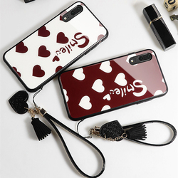 На Алиэкспресс купить стекло для смартфона for huawei honor play 4t pro 3 case free strap smile lovely heart hard tempered glass cover for honor play 3 4t magic 2 casing