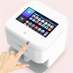 Мобильная машина для печати ногтей цифровой Интеллектуальный принтер для дизайна ногтей с WIFI маникюрный салон набор инструментов DIY оборуд...