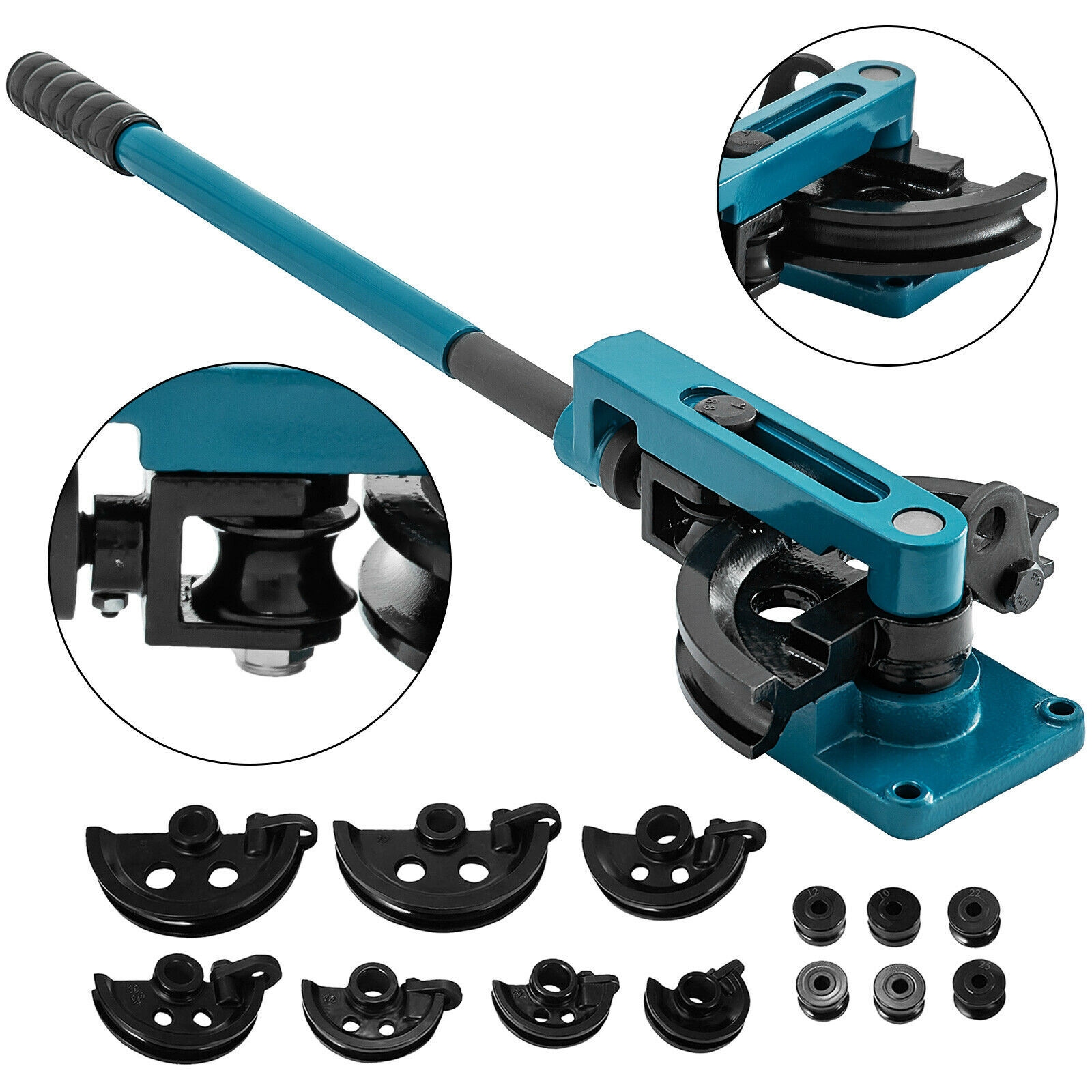 Pipe Bender 3/8 To 1 Inch Pipe Tubing Bender 10-25mm Bending Formers Pipe Bender Set Suitable For Copper Brass Aluminum Stainles