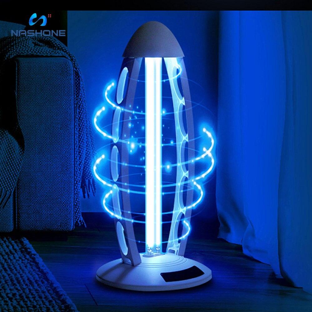 UV 38W UVC Lamp Sterilizer Ozone Quartz UV Light 110V/US Plug 220V/EU Plug Ultraviolet Germicidal Lamps For Home Desinfection