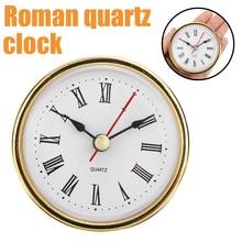 Clock Clocks-Head-Insert Quartz-Movement Round 65mm Craft Number-Mayitr Classic Roman