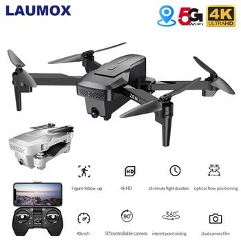 VISUO XS818 GPS Drone 4K Dual Camera HD Angle FPV Drones with 5G WiFi Optical Flow Foldable RC Quadcopter Professional VS E520S original gdu o2 drones fpv foldable quadcopter with 4k hd camera gps