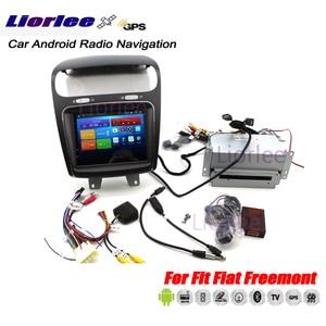 Image 2 - Auto Autoradio Multimedia Player Für Fiat Freemont 2008 2018 Android Radio GPS Player Carplay Karten Stereo Navigation System