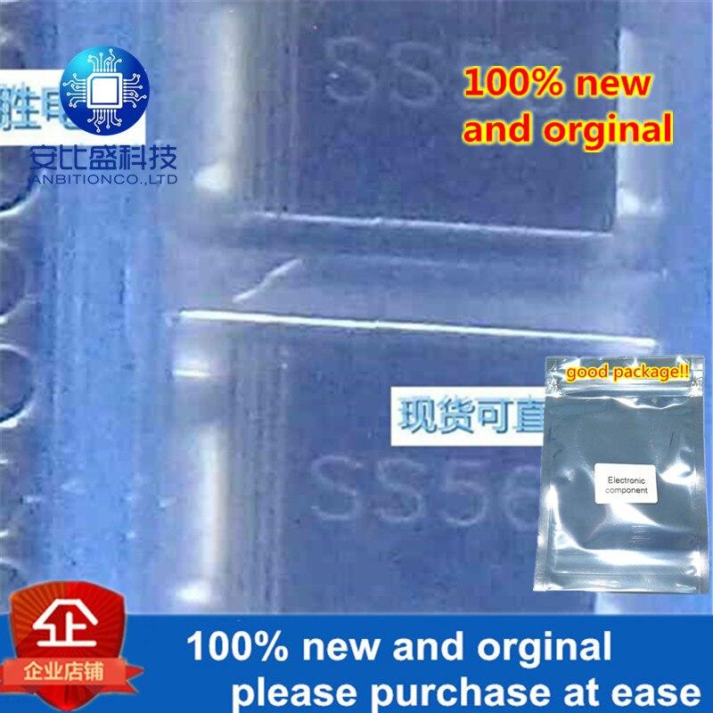 30pcs 100% New And Orginal SK560SC 5A60V DO214AB Silk-screen SS56 In Stock
