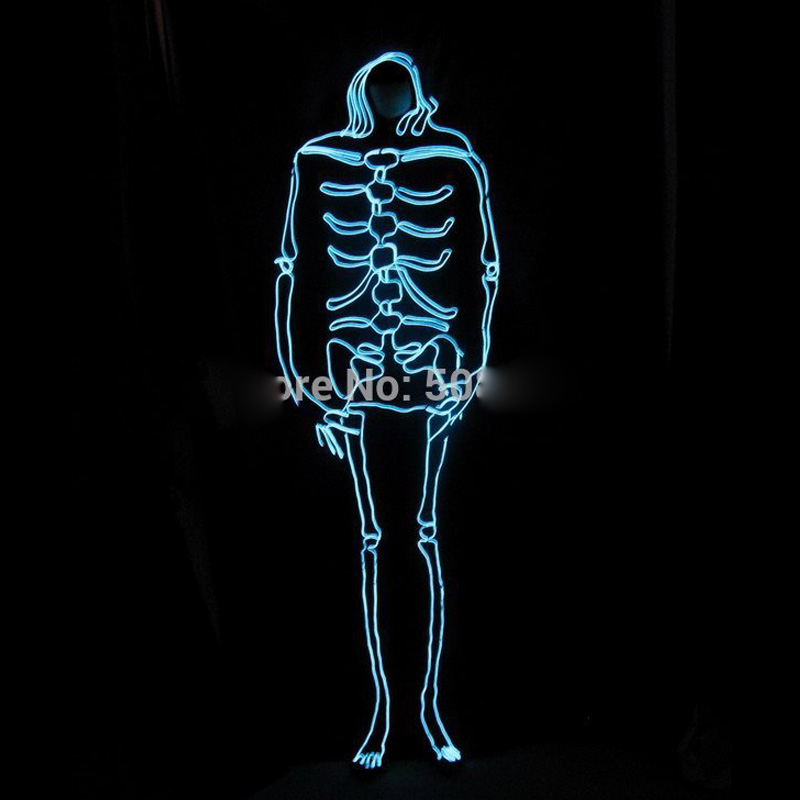El Men Swear Led Costumes Diy Magic Cos Stage Light Clothing Halloween Costumes Nightclub Cosplay Monster Dance Clothing Aliexpress