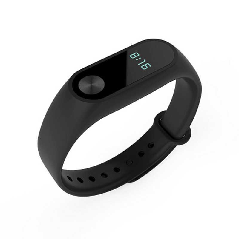 Per Xiaomi Fascia 2 Cinghia di Accessori Braccialetto Braccialetto Intelligente di Ricambio Wristband Del Silicone Per Xiaomi Fascia 2 Accessori TSLM1