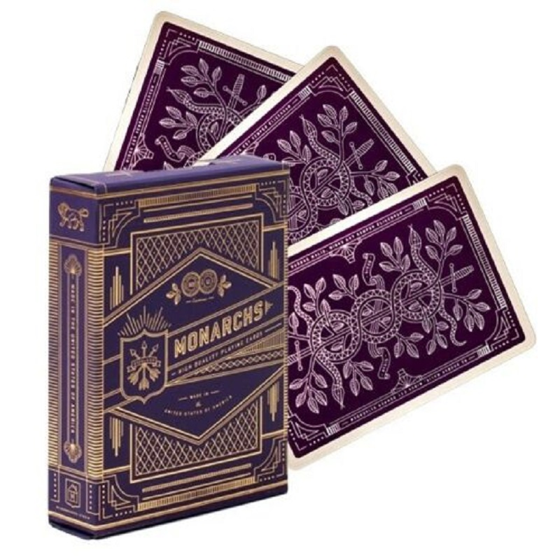 purple-monarch-playing-cards-by-theory11-monarchs-deck-bicycle-uspcc-font-b-poker-b-font-magic-card-games-magic-tricks-props-for-magician