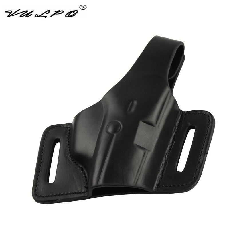 VULPO Tactical Pistol Leather Holster M9/92F Belt Holster For Gun Pistol M9/92F