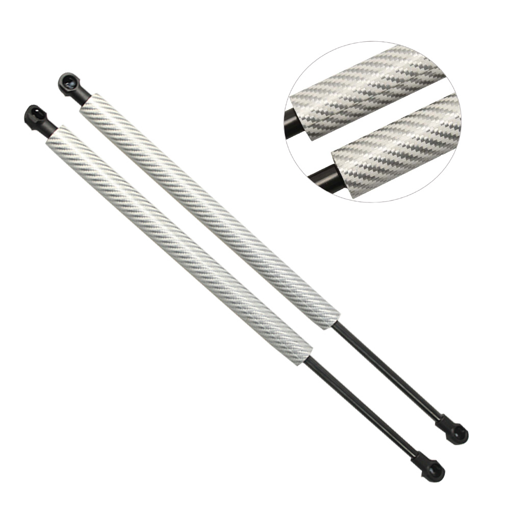 for BMW 3 Series E90 E91 E92 E93 M3 2005 -2013 Front Auto Bonnet Hood Carbon fiber Shock Gas Struts Spring Lift Supports 400 mm image