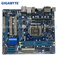 Оригинальная б/у Материнская плата Gigabyte GA-H55M-D2H DDR3 LGA 1156 для I3 I5 I7 32NM cpu H55M-D2H 8GB настольная материнская плата