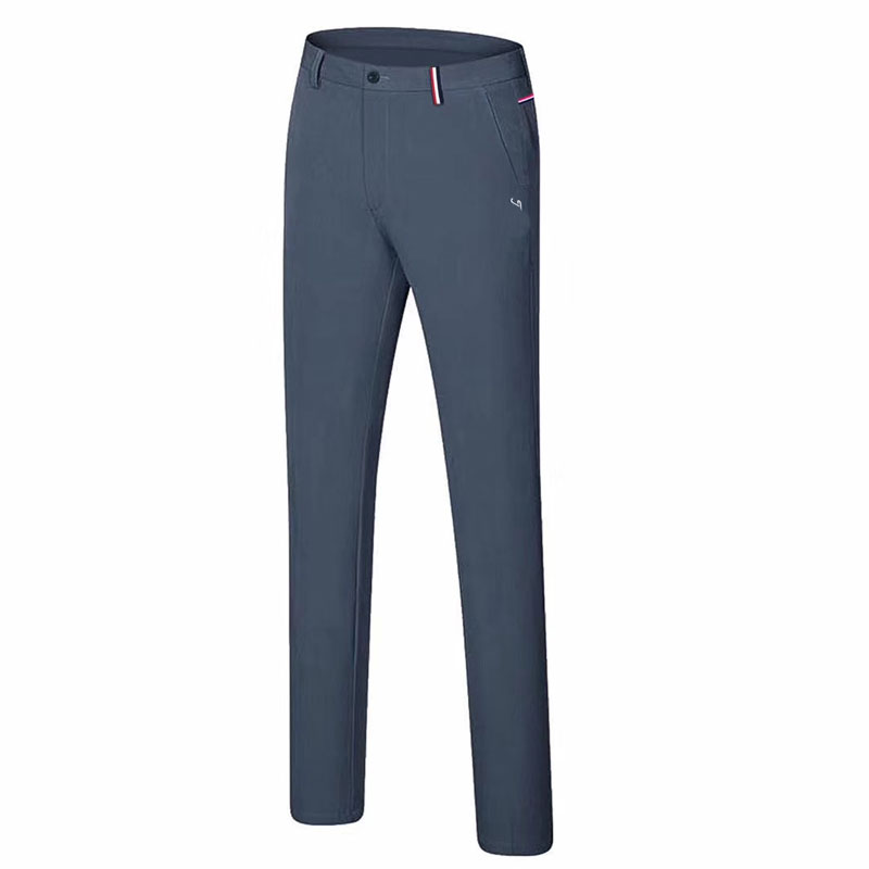 Men New Golf pants Autumn and summer solid color fashion casual Golf clothing Quick-drying Breathable Golf Long pants
