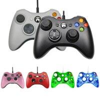 Joypad Controller cablato USB per PC di sistema Microsoft Gamepad Windows per PC Win 7 / 8/10 Joystick per Xbox 360 Joypad