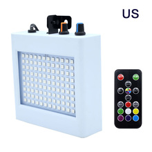 купить LED stage light 108Leds Strobe Lighting DJ Disco Stroboscope Led Light Effect RGB Lamps for KTV Bar Party Show US Plug дешево