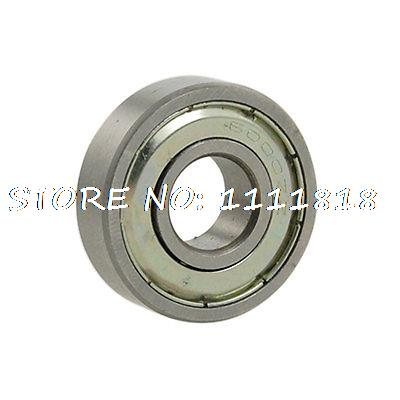 10 X 26 X 8mm Sealed Deep Groove Roller Bearings 6000zz