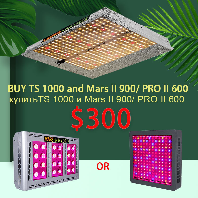 TSW 2000W And TS 1000 Led Grow Light Full Spectrum With Mars II Pro II Big Sale Mars Hydro Led Grow Lamp For Indoor Grow Tent