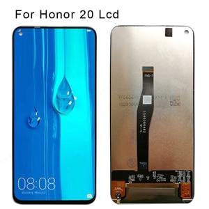 Image 1 - מקורי LCD עבור Huawei Honor 20 פרו LCD תצוגת מסך מגע Digitizer LCD תצוגה עבור Huawei Honor 20 נובה 5T LCD YAL L21