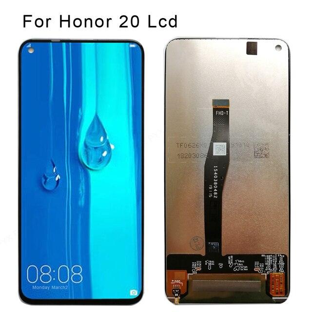 מקורי LCD עבור Huawei Honor 20 פרו LCD תצוגת מסך מגע Digitizer LCD תצוגה עבור Huawei Honor 20 נובה 5T LCD YAL L21