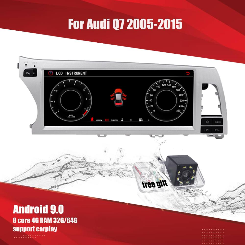 Aucar Android 10.25'' IPS radio Car multimedia for <font><b>Audi</b></font> Q7 <font><b>Audi</b></font> <font><b>A6</b></font> 2005- 2015 <font><b>GPS</b></font> <font><b>navigation</b></font> Radio WIFI 2 din di Stereo headunit image