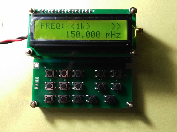 ADF4351 Signal source generator VFO Variable-Frequency Oscillator 35mhz-4000mhz