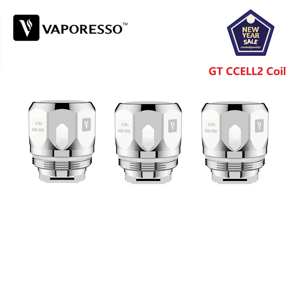 3pcs/lot Original Vaporesso Coil GT4 GT8 GT2 GT6 GT CCELL GT MESH GT CCELL2 Core For Electronic Cigarette Vaporesso NRG Tank