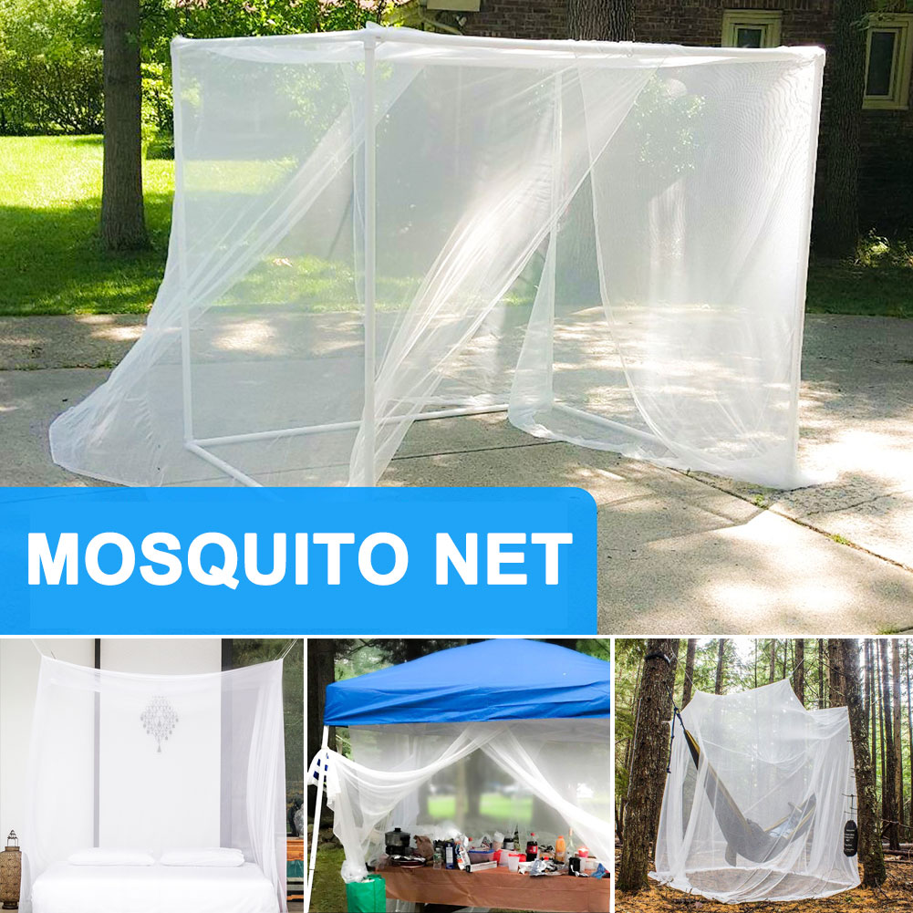 Newly Portable Mosquito Net Lightweight Breathable Anti-mosquito Bed Net For Travel Holiday