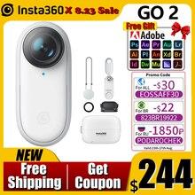 Insta360-Cámara de acción GO 2 Mini, videocámara deportiva 4K portátil resistente al agua, antivibración, adecuada para VLOG, YouTube, como Gopro