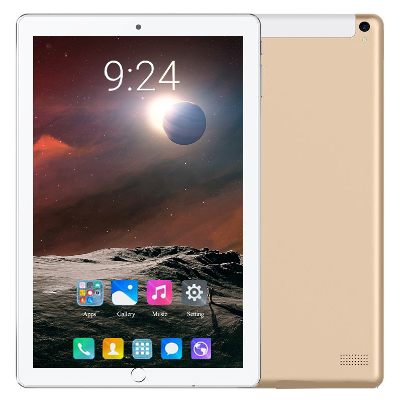 2020 New Original 10.1 Inch Tablet Pc Octa Core 4G Lte Phone Call 10 Tablets 6G + 128G Android 8.0 Tab Google Market GPS WiFi FM