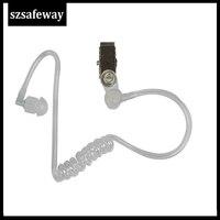 עבור baofeng 10 צינור אקוסטי נתיק עם אוזניית סיליקון עבור מוטורולה עבור אוזניות KENWOOD מעקב רדיו Baofeng שני בדרך (1)