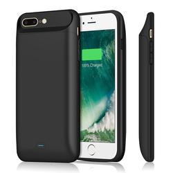 5000-7200 mah para o iphone 6s 7 8 plus caixa de bateria externa magnético portátil power bank pacote carregador rápido proteger capa