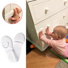 5 PCS New Hot Sales Child Baby Kids Pet Proof Door Refrigerator Cabinet Cupboard Toilet Drawer Safety Lock