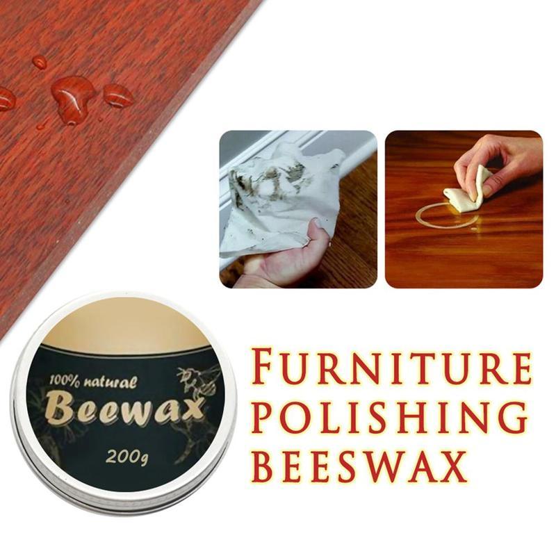 Cera de abejas pura Natural, grado cosmético, cera de abeja orgánica filtrada, pulido de madera, muebles de bambú, superficie de suelo, cera de acabado Envoltura de almacenamiento reutilizable de cero residuos, papel de envolver alimentos orgánico y sándwich y queso, envoltorio de cera de abejas sin BPA y plástico