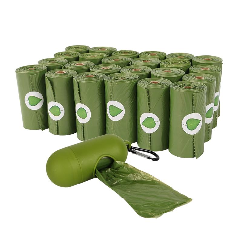 300 шт., биоразлагаемые пакеты для уборки собак