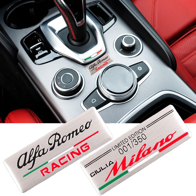 1 шт. Стильный автомобильный значок специального цвета mblem наклейка для ALFA ROMEO Racing Mito 147 156 159 166 Giulietta Spider Giulia Stelvio