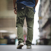 2020 New Vintage Military Tactical Pants Casual Army Green Cargo
