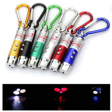 цена на High Quality 3 In 1 Red Laser Pen 1mV 49 Feet Laser Sight Mini Led Flashlight Beam Light Pointer for Work Teaching Training