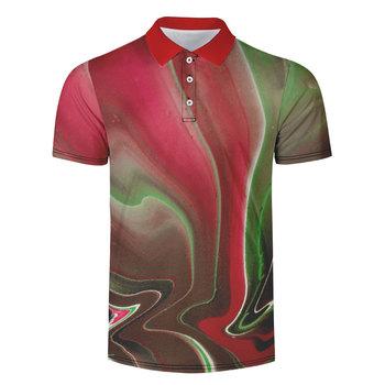 WAMNI marka 3D koszula Casual Sport skręcić w dół kołnierz mężczyzna tenis T Shirt szybkie suszenie Streetwear oddychająca wysokiej jakości koszulka tanie i dobre opinie Krótki Poliester Pasuje większy niż zwykle proszę sprawdzić ten sklep jest dobór informacji Oddychające Sport Casual