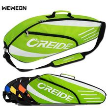 Bag Tennis-Backpack Badminton-Racket Lightweight Single-Shoulder for 3-6 Portable Sports-Equipment