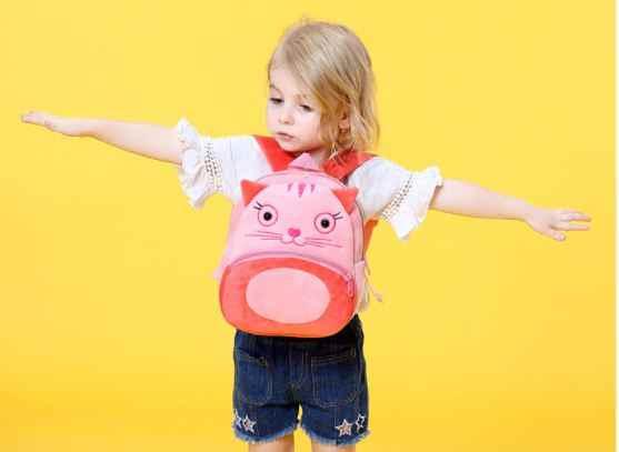 3D dzieci tornister zwierząt pluszowa kreskówka plecak na zabawki Student przedszkole torby słodka zabawka dla dzieci dziecko