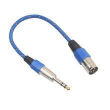 цены 0.3m Microphone Wire Cord XLR male to Jack 6.35 mm Male Plug Audio Lead Microphone Cable XLR to Jack 6.35mm male to male