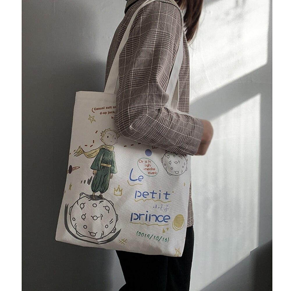 Japonês estilo preppy saco de compras feminino