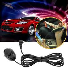 1 pces 50 hz-20 khz profissional microfone externo de 3.5mm para bluetooth handsfree para carro mic gps dvd reprodutor de chamadas m5o6